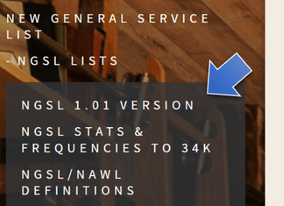 NEW GENERAL SERVICE LIST