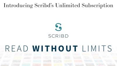 Scribdの始め方と解約方法 -